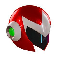 "Crunchyroll - Capcom Responds to ""Mega Man"" Fan Demand with Wearable Proto Man Helmet"
