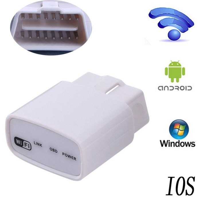 ELM327 WiFi V1.5 OBD2 OBDII Car Diagnostic Scanner Tool for iPhone Android iPad #UnbrandedGeneric