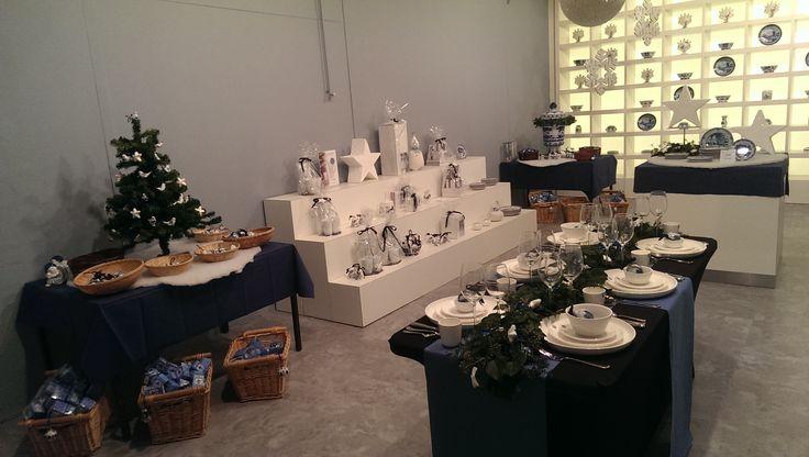 Christmas showroom @RoyalDelft