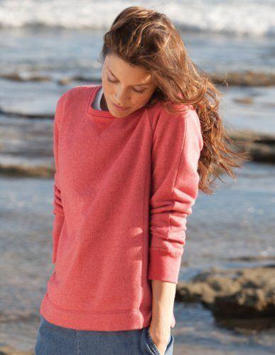 Raglan-sleeved Melange Sweatshirt Orvis. $44.00