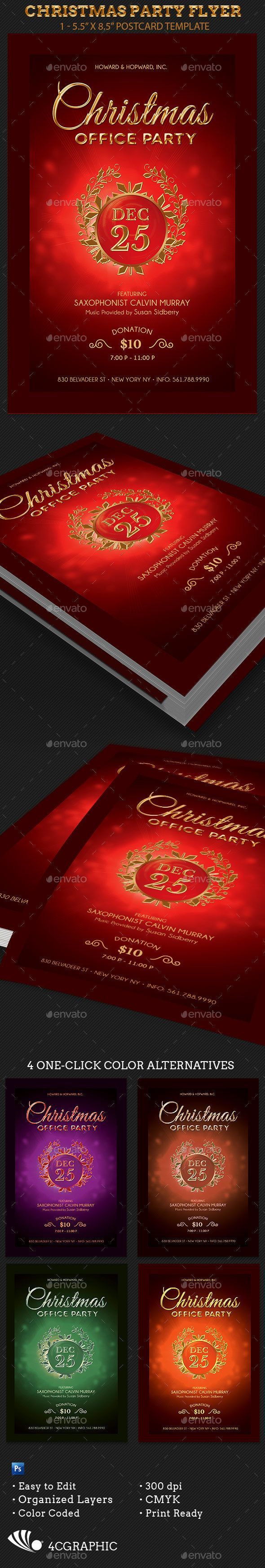 best images about christmas print templates christmas party flyer template