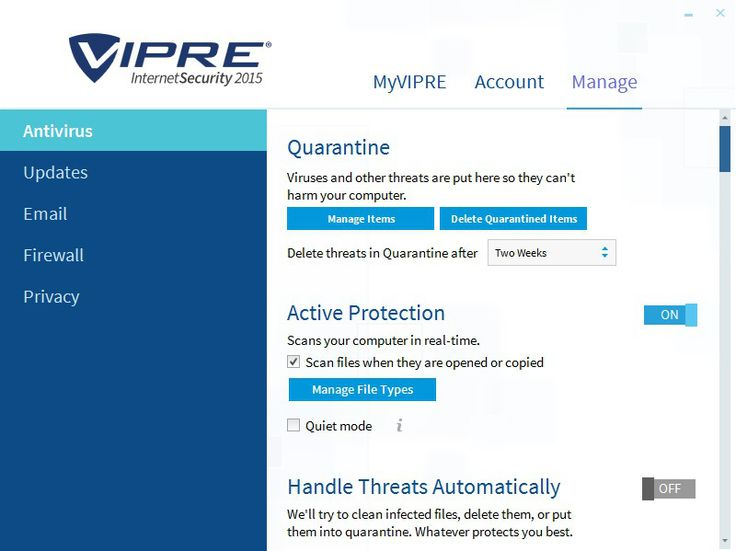 VIPRE Internet Security 2015 Crack Full Free Download