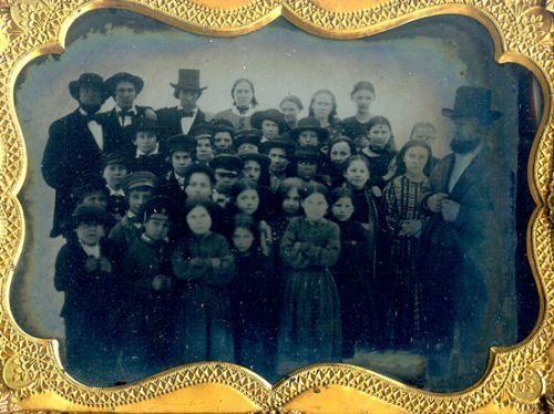 (c.1840s-50s) Class Photo