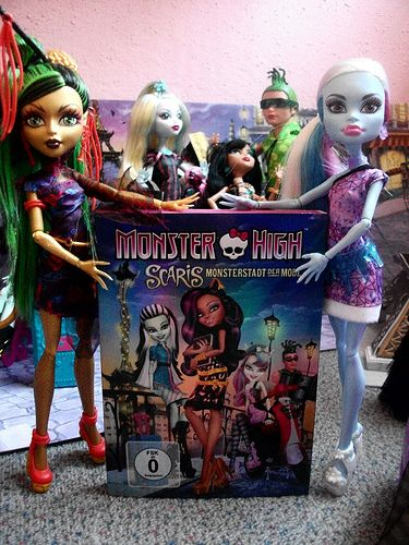 Monster High scaris City of Frights Monsterstadt der Mode DVD Film Movie