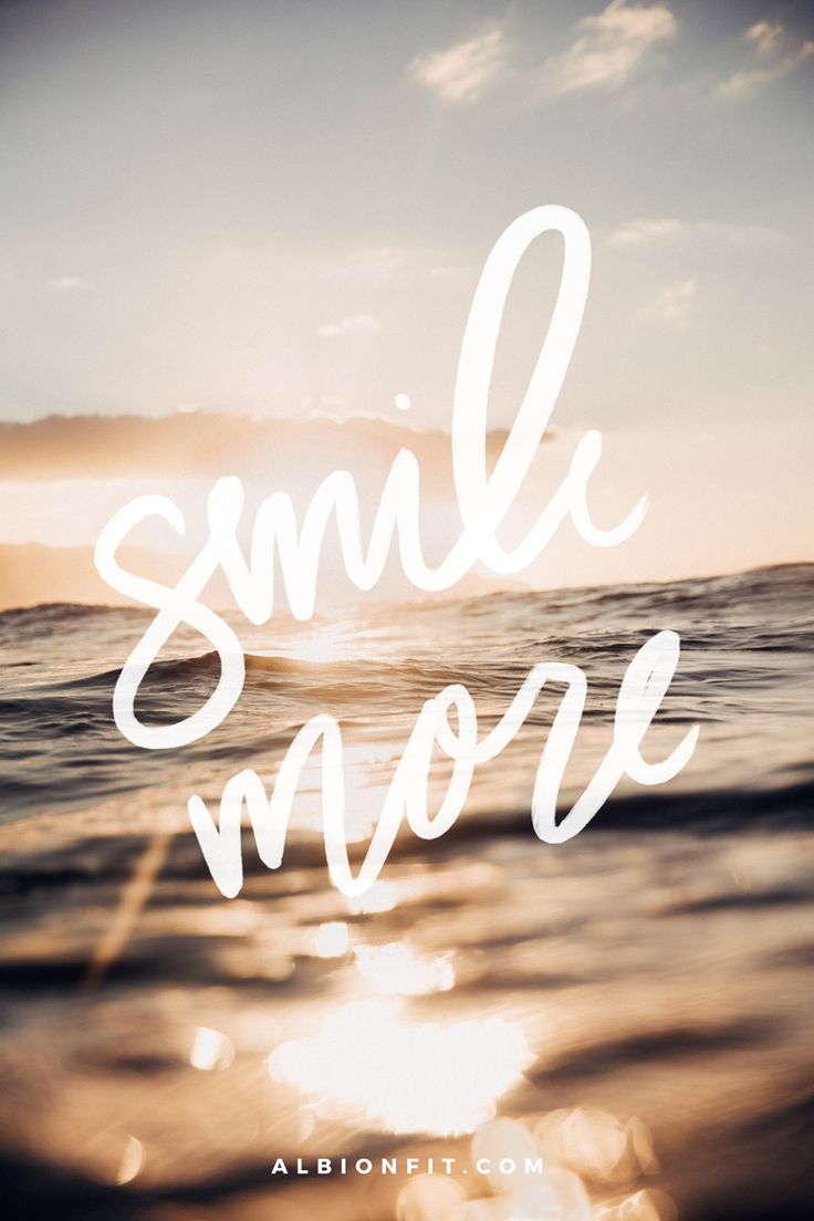 Smile More | @albionfit inspiration