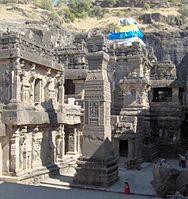 Kailasha temple at Ellora - Kailasa temple, Ellora - Wikipedia, the free encyclopedia