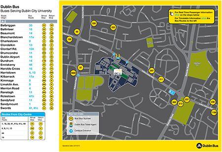 DublinBus DCU Interactive Map
