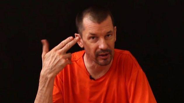 Estado Islámico difundió tercer video del periodista británico John Cantlie #Peru21