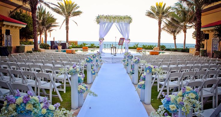Eau Palm Beach Resort Wedding Venues West Fl