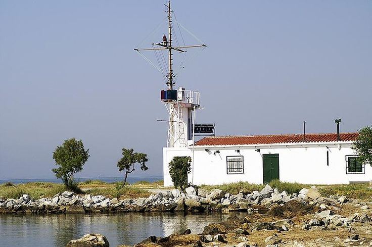 Axios Lighthouse. Greece