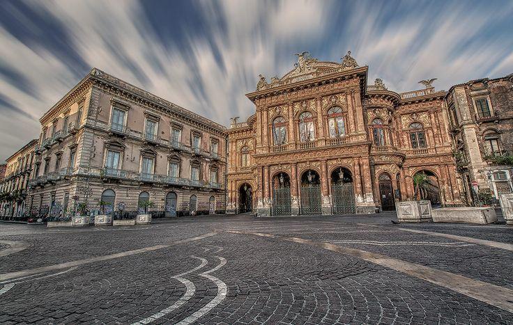Cityscape Photo Teatro Massimo, Catania