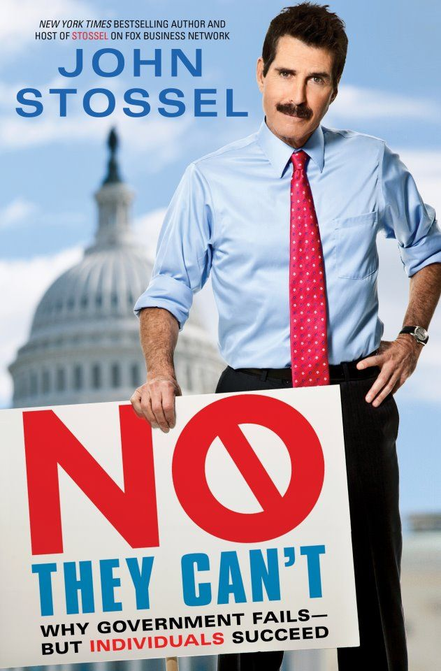 "Can government solve all our problems? John Stossel says, ""No, they can't."" #newrelease #johnstossel"