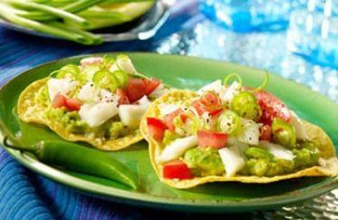 Tostadas de Ceviche | SABOR MEXICANO | Pinterest