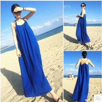 http://www.aliexpress.com/store/product/2015-Summer-female-2015-one-piece-dress-skirt-summer-full-dress-beach-chiffon-suspender-skirt-free/730518_32350608084.html