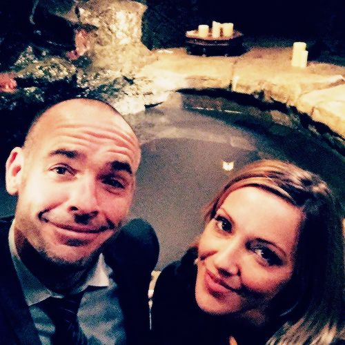 Paul Blackthorne - Loungin' by the Lazarus pit with Katie Cassidy