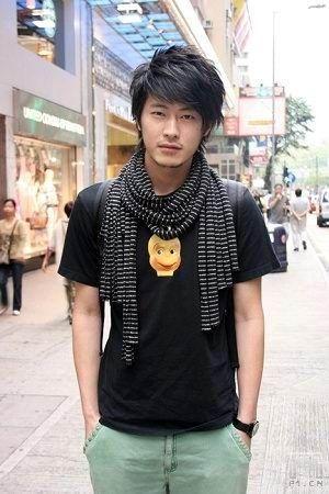 Penteados masculinos asiáticos