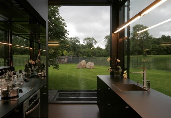 Window backsplash: Kitchens Windows, Pavilniai Regions, Yellow Bricks House, Antiques Book, Glasses Wall, Architecture Bureau, Dream Kitchens, Regions Parks, Families House