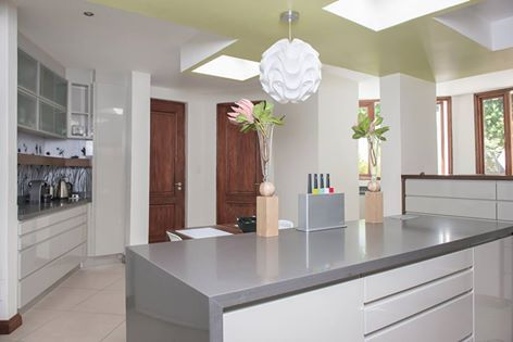 Our feature kitchen is breathtaking! This classic beauty is light and airy with an almost timeless yet fresh feel. The use of neutral colours plus the simple yet seamless cabinetry creates a style of sheer comfort! Would this be your environment of choice to create those 'Master Chef' treats for the family? For more exquisite designs, just visit http://www.easylifekitchens.co.za/gallery/browse/kitchens