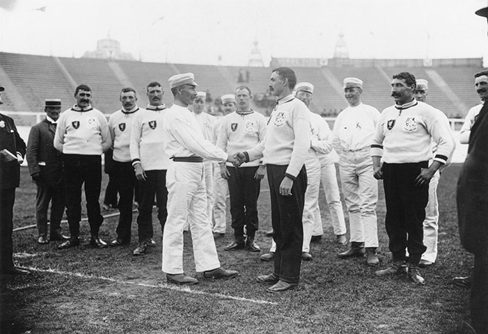 Photos of the London Olympics, 1908 style