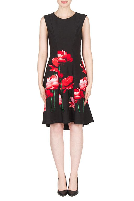 Joseph Ribkoff Dress | Garnet Dress 173760 | Buy Online – Wardrobe Fashion