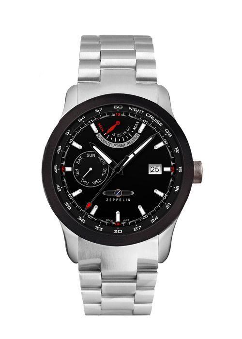Zeppelin Night Cruise 7262M-2 Luxusní pánské hodinky z kolekce Night Cruise se vyznačují sportovním vzhledem a zajímavě zpracovaným ciferníkem. Německá kvalita a preciz...