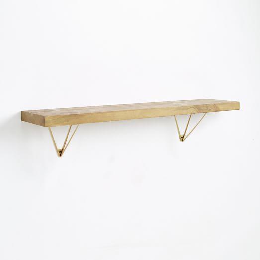 reclaimed wood shelving brackets. Black Bedroom Furniture Sets. Home Design Ideas