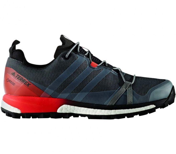 Adidas - Terrex Agravic GTX Mountain zapatillas de running para hombre (gris /rojo)