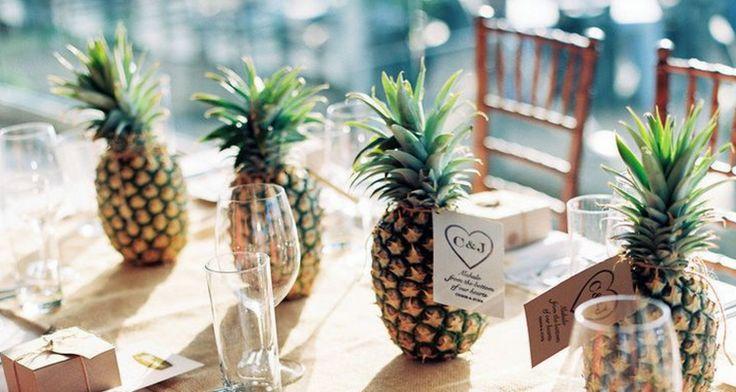 Luau Wedding Reception