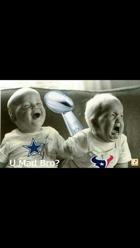 Dallas Cowboys vs Texans LOVE THIS ONE. Lol