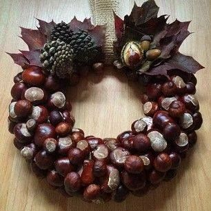 Chestnut wreath                                                                                                                                                                                 More