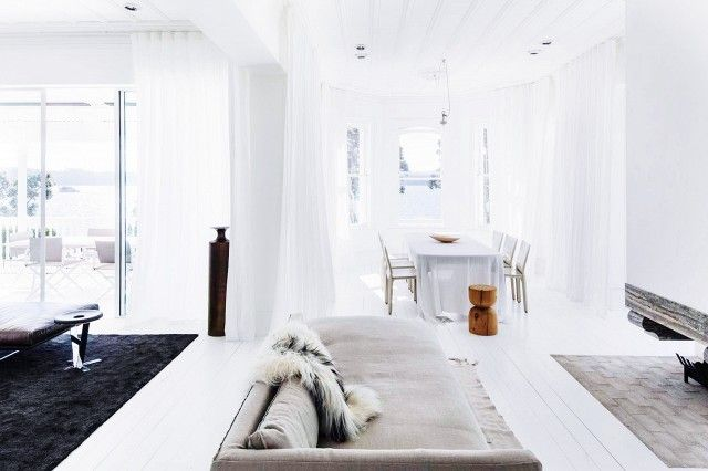 Inside an Airy Home with Understated Elegance via @domainehome