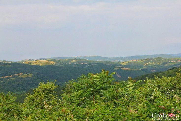 Panorama okolicy widzianej z Hum http://crolove.pl/hum-najmniejsze-miasto-swiata/ #hum #chorwacja #croatia #hrvatska