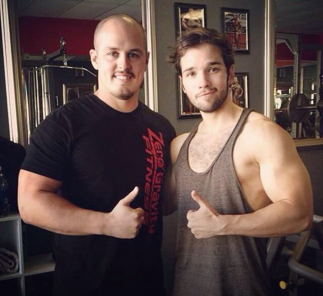 nathan kress muscles 2015. buff nathan kress and a fan! goodness look at nathan! muscles 2015