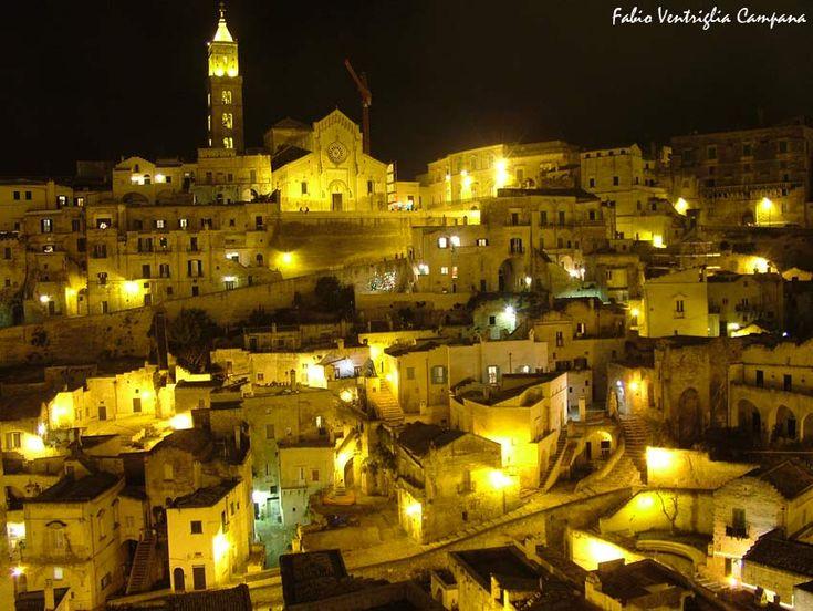 Matera di notte! #capitalecultura2019 #Matera2019