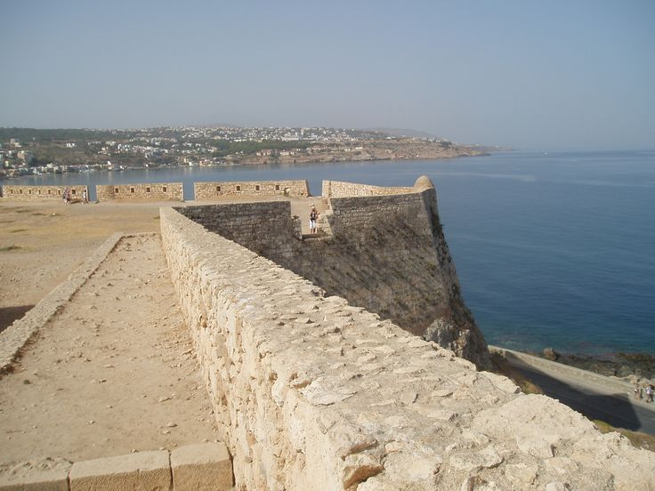 View from the fortress, Rethymnon.