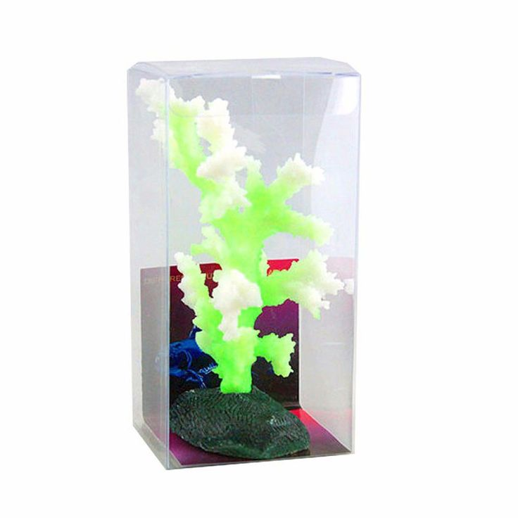 Luminous Sea Anemone Aquarium Artificial Silicone Coral Plant Fish Tank Aquarium Accessories Landscape Decoration #AquariumAccessoriesDecorations