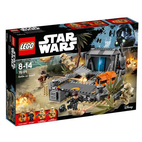 Superb LEGO Star Wars Battle on Scarif 75171 Now At Smyths Toys UK! Buy Online Or Collect At Your Local Smyths Store! We Stock A Great Range Of LEGO Star Wars At Great Prices.