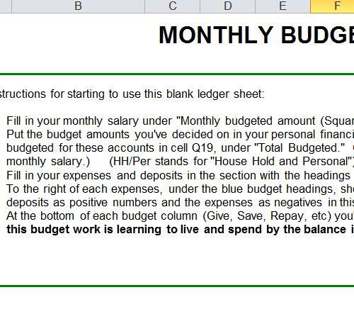 Ponad 25 najlepszych pomysłów na Pintereście na temat Monthly - sample monthly budget