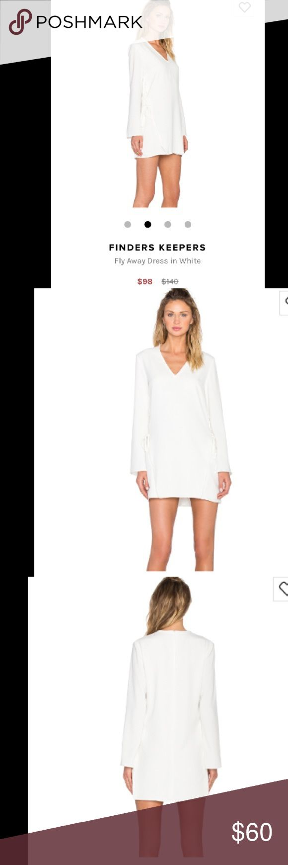 nwt - FINDERS KEEPERS dress bell sleeves and cross tie up the sides!! Finders Keepers Dresses Mini