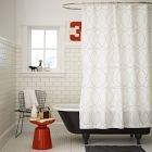 Nile Shower Curtain-- West Elm