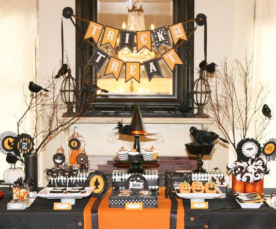 Be witch ing Halloween Printable Party Pack - SALE - As Seen on Hostess Blog