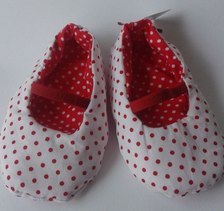 Shoes, Mary Janes for baby girls, red polka dot, handmade, EGST, European street team, ideal baby shower gift, new mum, ready to ship by Pitsiriki on Etsy