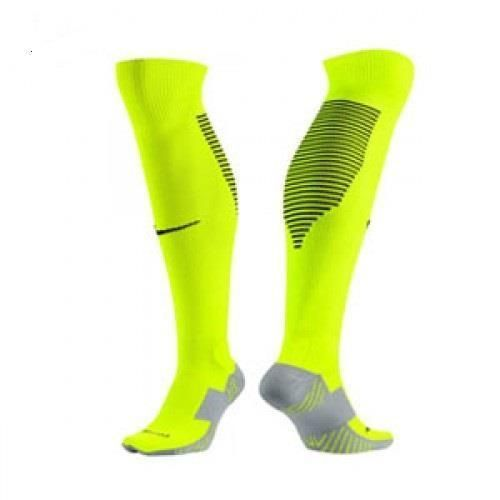 367e24002e94 Nike Mens Performance Cushion OTC Soccer Socks 12-15 Neon Yellow Blk  SX5346-703  Nike