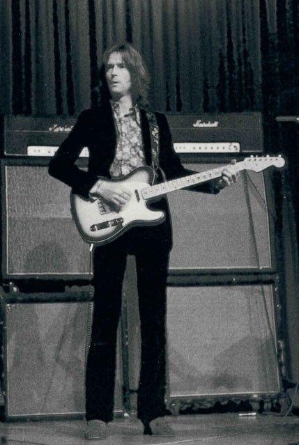Clapton with Blind Faith, 1969.