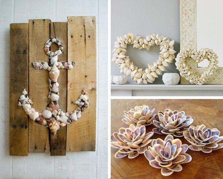 Souvent 26 best Decorazioni con le conchiglie / Shells DIY decor images on  HS61