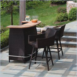 Patio Bars For Home | Bar Furniture: Outdoor Bar Sets
