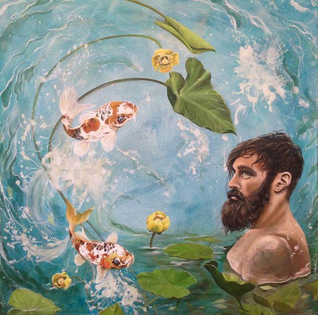 Observe and Let Go - Lisbeth Thygesen For inquiries please contact artist Lisbeth Thygesen at lisbeth_t@live.dk #popsurrealism