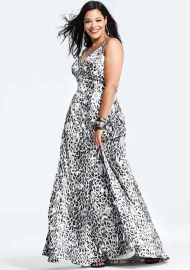 vestidos estampados para gorditas 5