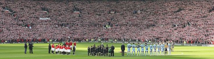 50th anniversary of the Munich air disaster, Manchester's great rivals were given the chance to unite in tribute...