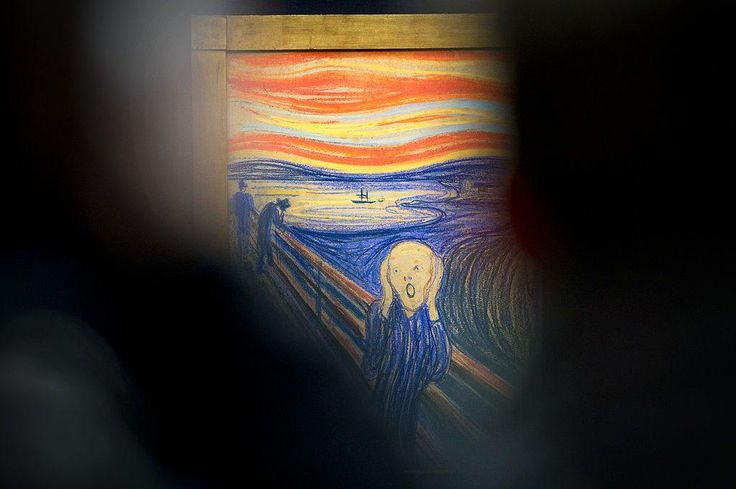 The Scream by Edvard Munch Carl Court/AFP/Getty Images